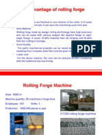 Rolling Forged Camshaft