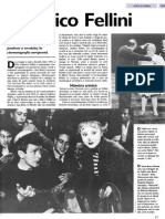 Arta Si Omul - Federico Fellini