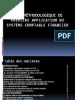 Note Méthodologique de Première Application du Système Comptable