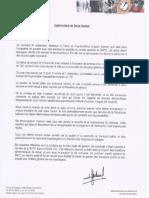 communiqué de Serge Godard, Président du SMTC.