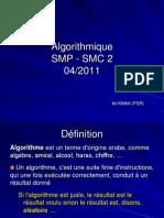 Algorithm i Ques Mpc 22