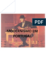 Modernismo Em Portugal Out 2011