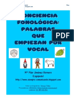 Palabras Que Comienzan Por Vocales