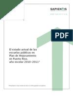 Informe de Escuelas en PM Completo (Final) 2010-2011