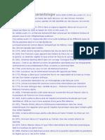 Histoire de La Parasitologie