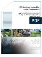 Maine; Guidance Manual on Low Impact Development Practices for Maine Communities