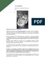 Humberto Maturana y lo matrístico