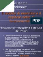 Lezione 6-12-07 Il Reddito Di Esercizio e Il Capitale Netto Di Funzionamento