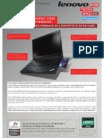 Lenovo E425 Datasheet