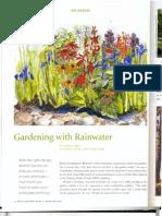 New Hampshire; Gardening with Rainwater