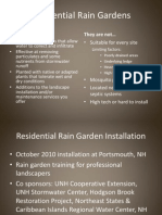 New Hampshire; Residential Rain Gardens - New Hampshire
