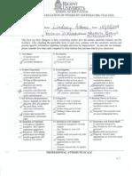 weekly evaluation week 8