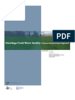 New York; A Green Infrastructure Approach - Onondaga Creek Water Quality