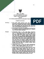 SK Gubernur UMK Jawa Barat 2012 R