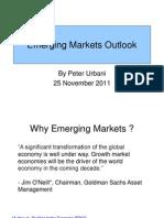Emerging Markets Outlook ( Oct 2011 )