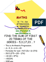 17 June Maths