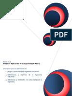 Areas de Aplicacion de La Ingenieria Industrial.