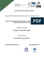 Manual Basico de Programacion HTML