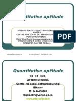 6 August Quantitative Aptitude
