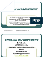 12 August English Improvement