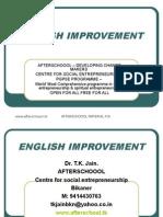 13 August English Improvement