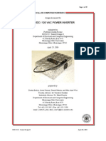 Power Inverter Hard Ware Design