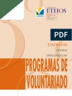 Goldberg, Ruth - Como as empresas podem implantar Programas de Voluntariado - 2001