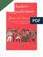 BASTA DE HISTORIAS