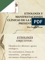 Etiologia y Manifestaciones Clinicas i - DIARREA