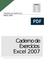 Caderno de Exercícios Excel 2007