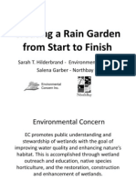 Maryland; Creating a Rain Garden from Start to Finish - Green Schools