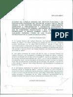 "IEPC Jalisco - Acuerdo Pto. 05 ""Abstención de Actos Proselitistas"
