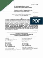 SCC 33888 Factum of Interveners CAUT_CFS 1637092_1