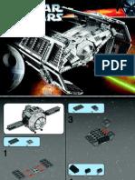 Vader Tie Advanced Instruction Manual (10175)