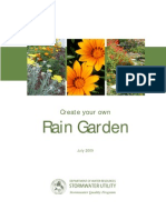 California; Create your own Rain Garden - Sacramento County Rain Garden Guidelines