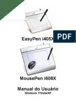 EasyPen i450X,MousePen i608X PC Brasil