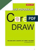 Petunjuk Pen Gen Alan Corel Draw