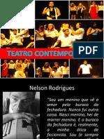 Literatura_Teatro Contemporâneo