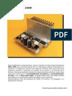 Amp 250w Mono