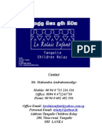 Tangalle Children Relay Project 20 March 2007