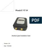 Vt10 Hardware Installation Guide101 Gps Gsm External