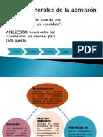 ETAPAS GENERALES DE LA ADMISIÓN L.P. ADMON. DE PERSONAL