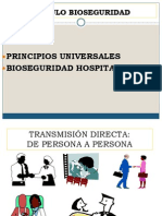 BIOSEGURIDAD Principios Universales