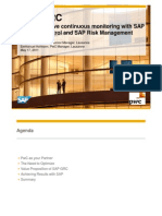 SAP Process Control and Risk Management