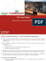 Thar Coal Workable Partnership