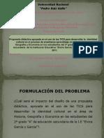 Identidad Cultural y TICS