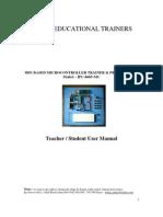 Micro Controller Trainer Manual