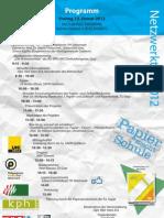 Programm Netzwerktag 2012