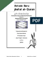 Cara Baru Hafal Quran