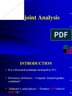 Conjoint Analysis 12345